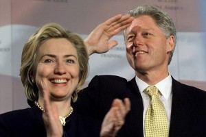 Hillary Rodham Clinton and President Bill Clinton