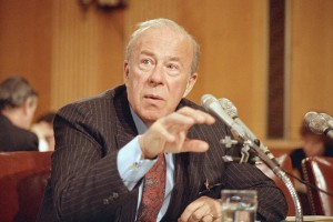 Secretary of State George Shultz