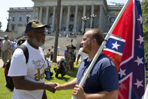 Rally to ban the confederate flag