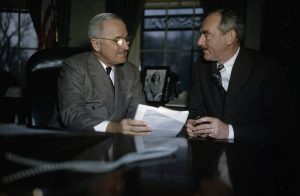 Harry Truman with Dean Acheson