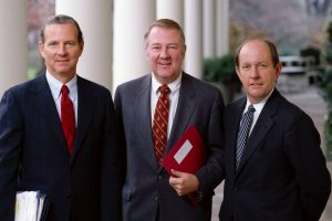 James Baker III, Ed Meese and Michael Deaver